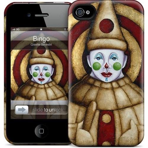 Gelaskins Apple iPhone 4 Hardcase Kılıf Bingo