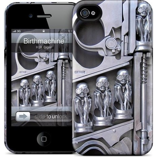 Gelaskins Apple iPhone 4 Hardcase Kılıf Birthmachine