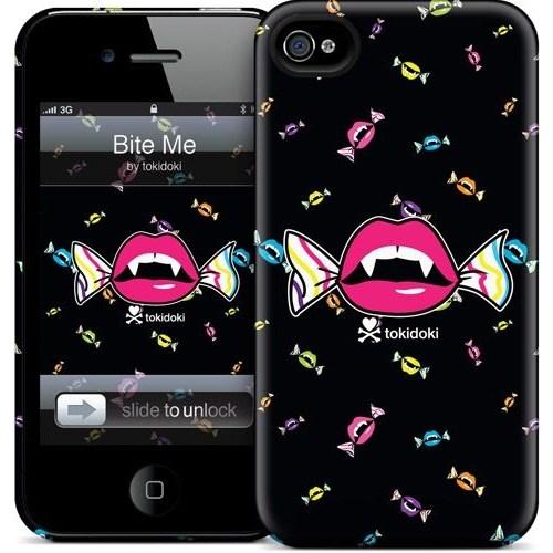 Gelaskins Apple iPhone 4 Hardcase Kılıf Bite Me