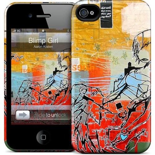 Gelaskins Apple iPhone 4 Hardcase Kılıf Blimp Girl