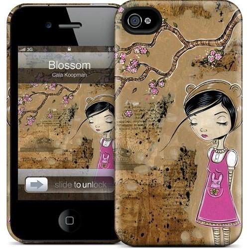 Gelaskins Apple iPhone 4 Hardcase Kılıf Blossom