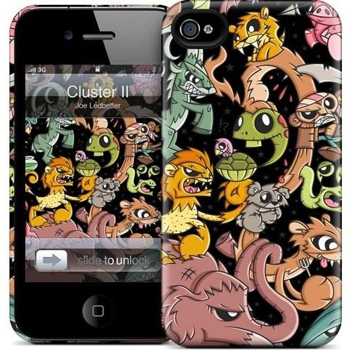 Gelaskins Apple iPhone 4 Hardcase Kılıf Cluster Iı