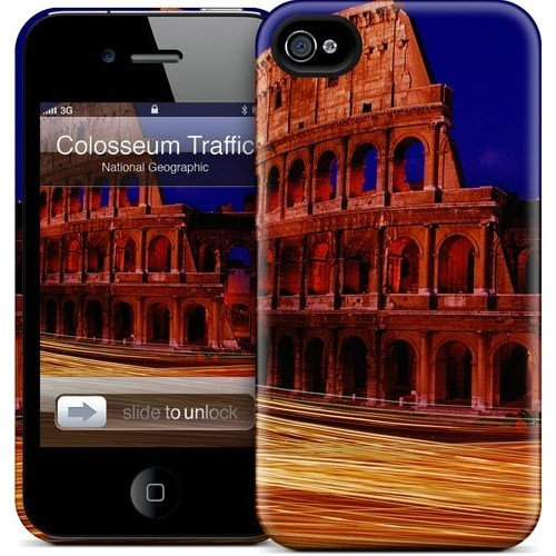 Gelaskins Apple iPhone 4 Hardcase Kılıf Colosseum Traffic
