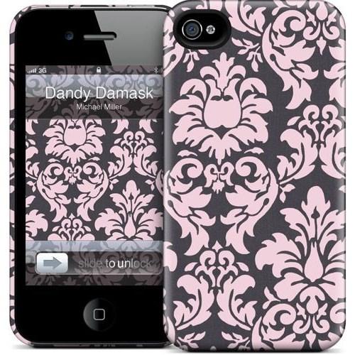 Gelaskins Apple iPhone 4 Hardcase Kılıf Dandy Damask