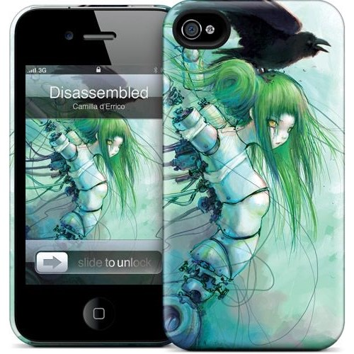 Gelaskins Apple iPhone 4 Hardcase Kılıf Disassembled