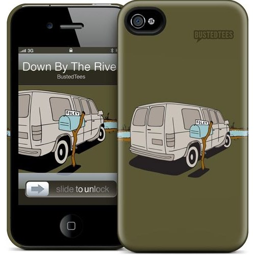 Gelaskins Apple iPhone 4 Hardcase Kılıf Down By The River