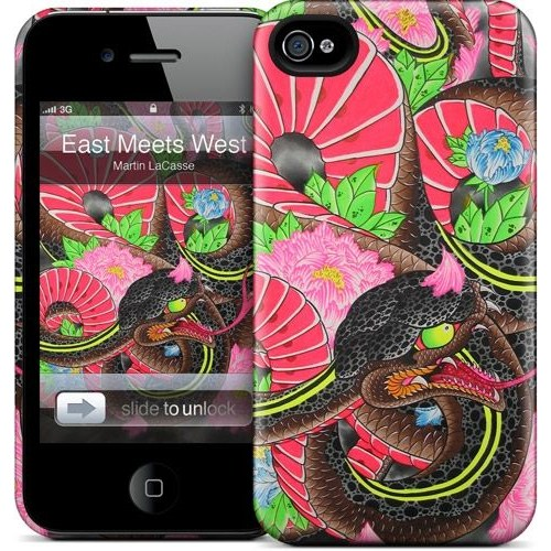 Gelaskins Apple iPhone 4 Hardcase Kılıf East Meets West