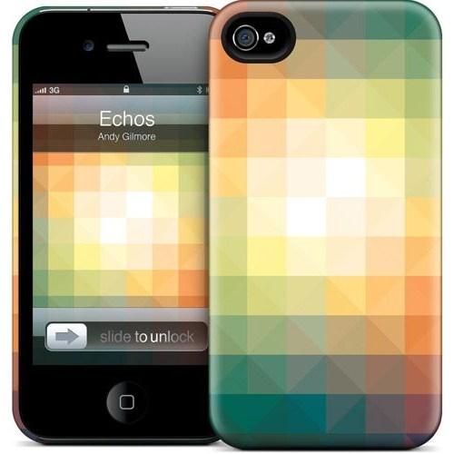 Gelaskins Apple iPhone 4 Hardcase Kılıf Echos
