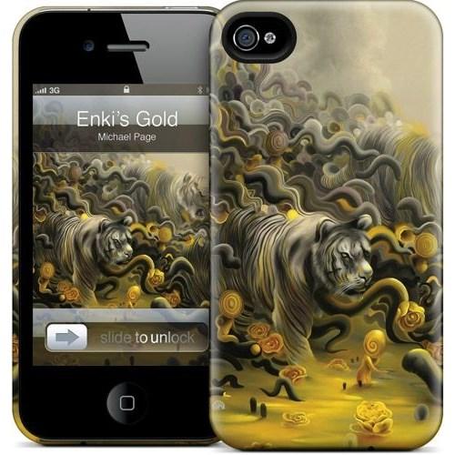 Gelaskins Apple iPhone 4 Hardcase Kılıf Enki's Gold