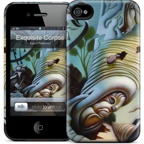 Gelaskins Apple iPhone 4 Hardcase Kılıf Exquisite Corpse