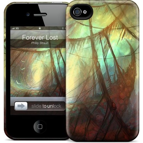 Gelaskins Apple iPhone 4 Hardcase Kılıf Forever Lost