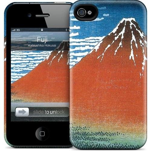 Gelaskins Apple iPhone 4 Hardcase Kılıf Fuji