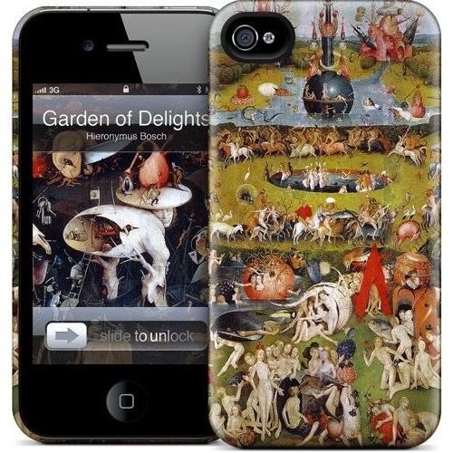 Gelaskins Apple iPhone 4 Hardcase Kılıf Garden Of Earthly Del