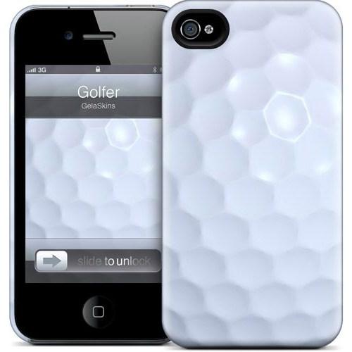 Gelaskins Apple iPhone 4 Hardcase Kılıf Golfer