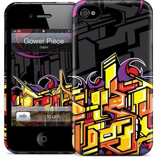 Gelaskins Apple iPhone 4 Hardcase Kılıf Gower Piece