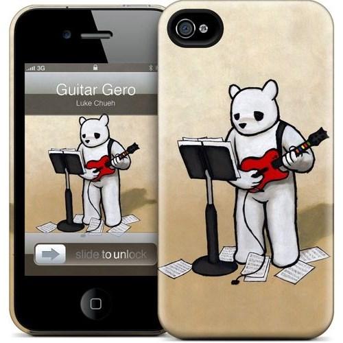 Gelaskins Apple iPhone 4 Hardcase Kılıf Guitar Gero