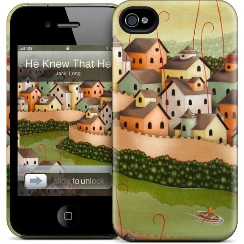 Gelaskins Apple iPhone 4 Hardcase Kılıf He Knew That He Had T