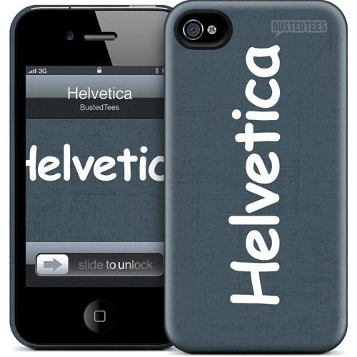 Gelaskins Apple iPhone 4 Hardcase Kılıf Helvetica