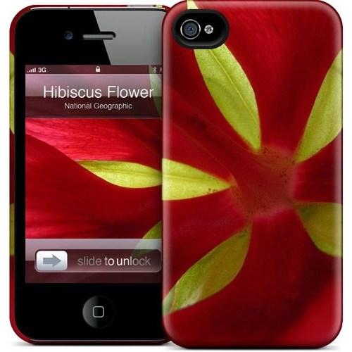 Gelaskins Apple iPhone 4 Hardcase Kılıf Hibiscus Flower
