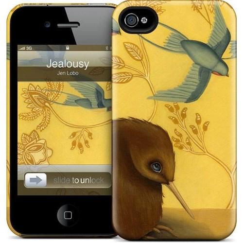 Gelaskins Apple iPhone 4 Hardcase Kılıf Jealousy
