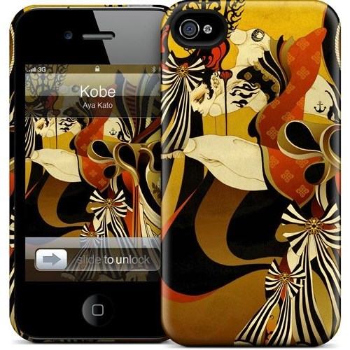 Gelaskins Apple iPhone 4 Hardcase Kılıf Kobe