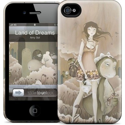 Gelaskins Apple iPhone 4 Hardcase Kılıf Land Of Dreams