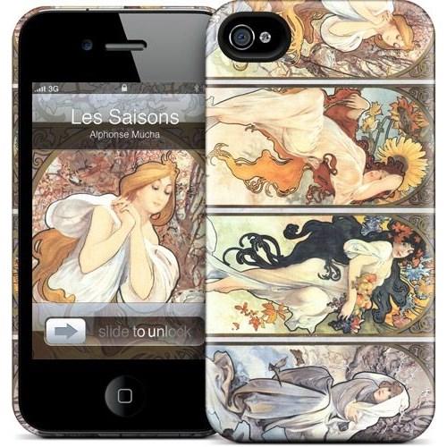 Gelaskins Apple iPhone 4 Hardcase Kılıf Les Saisons