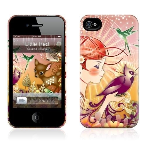 Gelaskins Apple iPhone 4 Hardcase Kılıf Little Red