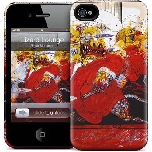 Gelaskins Apple iPhone 4 Hardcase Kılıf Lizard Lounge