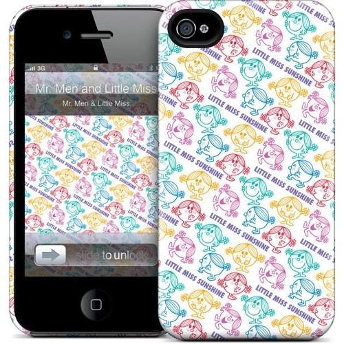 Gelaskins Apple iPhone 4 Hardcase Kılıf Lm Sunshine Pattern 2