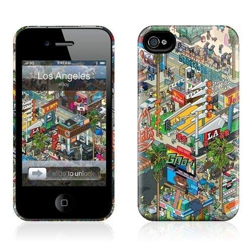 Gelaskins Apple iPhone 4 Hardcase Kılıf Los Angles