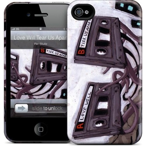 Gelaskins Apple iPhone 4 Hardcase Kılıf Love Will Tear Us Apa