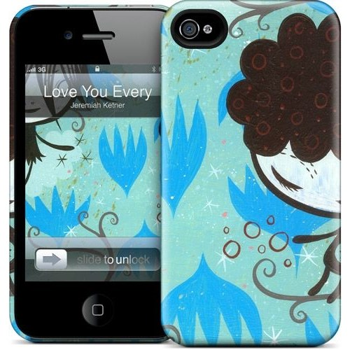 Gelaskins Apple iPhone 4 Hardcase Kılıf Love You Every Moment