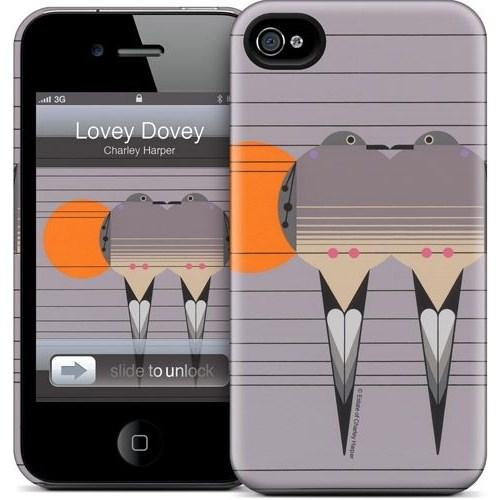 Gelaskins Apple iPhone 4 Hardcase Kılıf Lovey Dovey