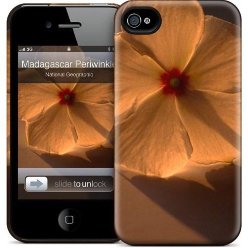Gelaskins Apple iPhone 4 Hardcase Kılıf Madagascar Periwinkle