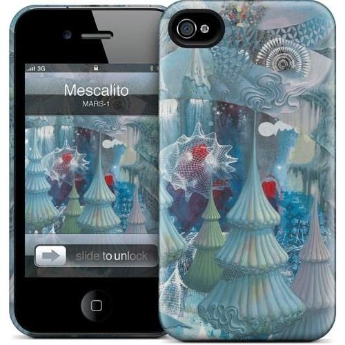 Gelaskins Apple iPhone 4 Hardcase Kılıf Mescalito