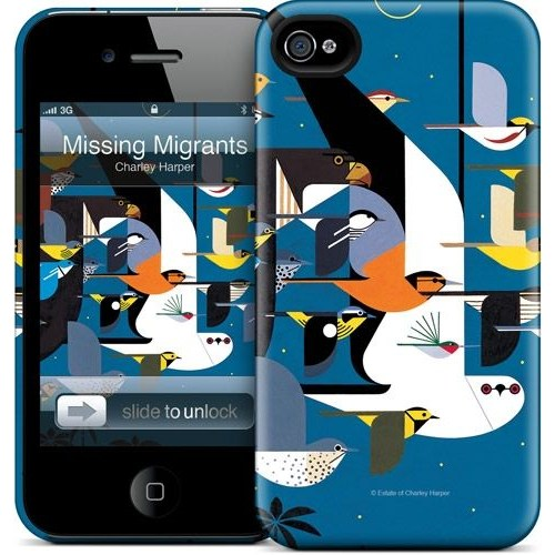 Gelaskins Apple iPhone 4 Hardcase Kılıf Missing Migrants