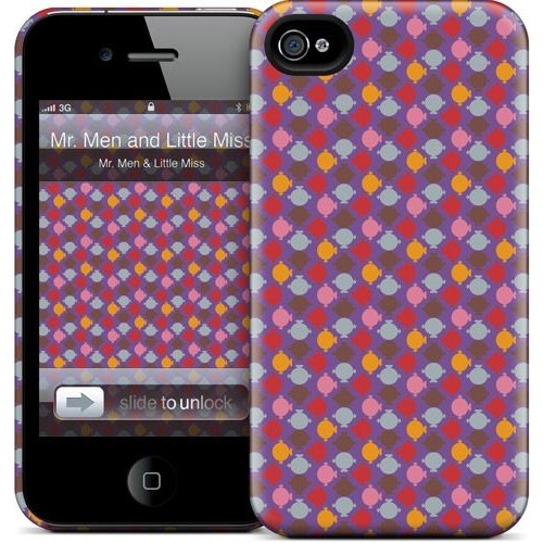 Gelaskins Apple iPhone 4 Hardcase Kılıf Mmlm Pattern 7