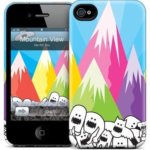 Gelaskins Apple iPhone 4 Hardcase Kılıf Mountain View