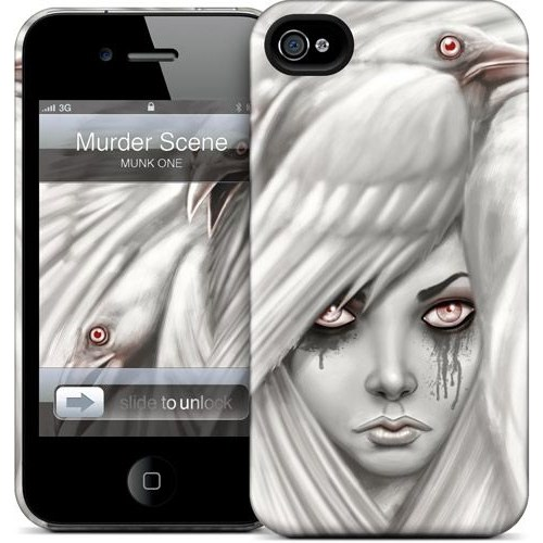 Gelaskins Apple iPhone 4 Hardcase Kılıf Murder Scene