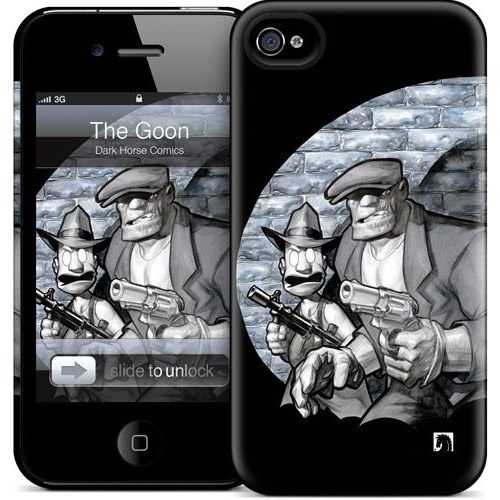 Gelaskins Apple iPhone 4 Hardcase Kılıf Noir