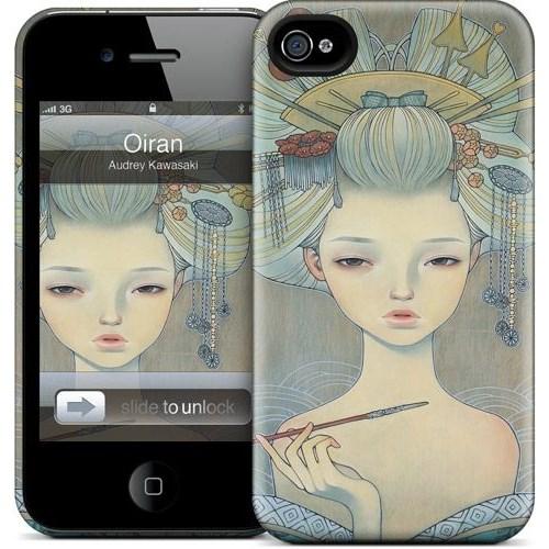 Gelaskins Apple iPhone 4 Hardcase Kılıf Oiran