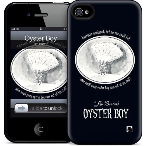 Gelaskins Apple iPhone 4 Hardcase Kılıf Oyster Boy