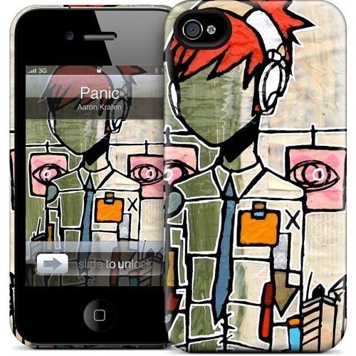 Gelaskins Apple iPhone 4 Hardcase Kılıf Panic