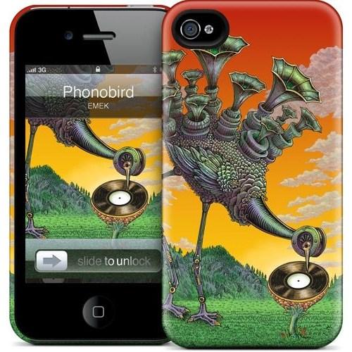 Gelaskins Apple iPhone 4 Hardcase Kılıf Phonobird