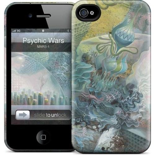 Gelaskins Apple iPhone 4 Hardcase Kılıf Psychic Wars