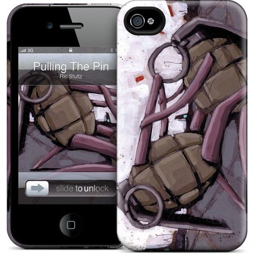 Gelaskins Apple iPhone 4 Hardcase Kılıf Pulling The Pin