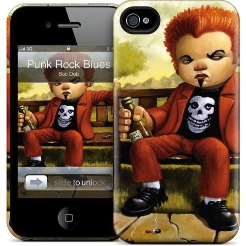 Gelaskins Apple iPhone 4 Hardcase Kılıf Punk Rock Blues