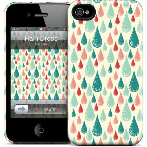 Gelaskins Apple iPhone 4 Hardcase Kılıf Rain Drop