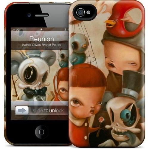Gelaskins Apple iPhone 4 Hardcase Kılıf Re